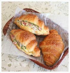 은근 매력적인 맛....베이컨 숙주볶음 크로와상 샌드위치,베이컨 숙주볶음, 크로와상 샌드위치 : 네이버 블로그
