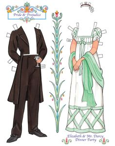 Welcome to Dover Publications  Jane Austen Paper Dolls: Four Classic Characters