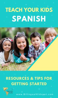 Spanish For Kids Starter Kit. Free resources and printables for getting started with Spanish as a family. Get access to a free eBook, stories, games, vocabulary cards, and more. Spanish Lessons For Kids, Learning Spanish For Kids, Spanish Basics, Spanish Language Learning, Teaching Spanish, Teaching Kids, Kids Learning, Spanish Games, Learning Time