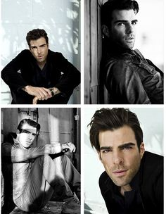 Zachary Quinto for GQ 2009