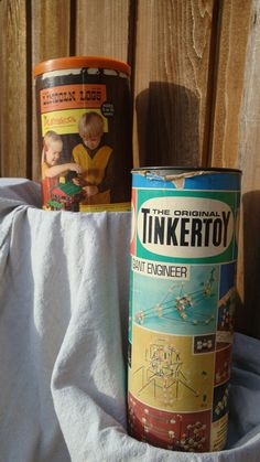 Lincoln Logs & Tinker Toys