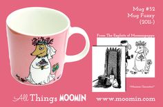 Moomin mug Fuzzy by Arabia - Moomin Moomin Mugs, Tove Jansson, Childhood, Tableware, Design, History, Infancy, Dinnerware, Historia