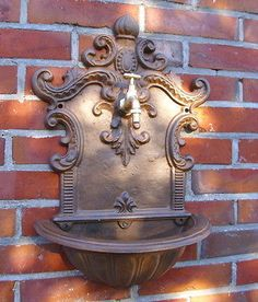#Fountain wall #classic antique grÜnderzeit #style cast iron garden decoration n,  View more on the LINK: 	http://www.zeppy.io/product/gb/2/361368546596/
