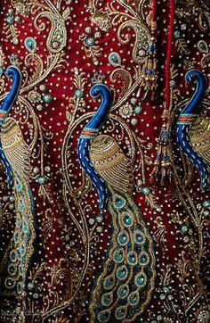 Indian broidery