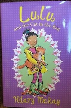 cool Lulu and the Cat in the Bag by Hilary McKay new hardcover Check more at http://shipperscentral.com/wp/product/lulu-and-the-cat-in-the-bag-by-hilary-mckay-new-hardcover/