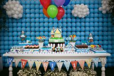 The Party Wagon - Blog - UP PARTY: Dessert Table