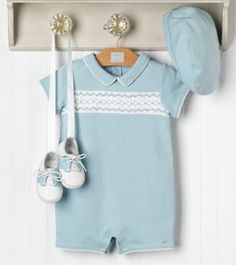 smocking for baby boy. I love this, but my son-in-law would cringe if I made this if ever they have a boy!