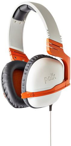 Amazon.com: Polk Audio Striker P1 Gaming Headset - Orange: playstation 4: Video Games