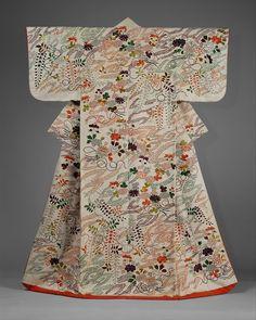 Style Japonais, Art Japonais, Japanese Textiles, Japanese Kimono, Geisha, Motifs Textiles, Kimono Design, Japanese Embroidery, Modern Embroidery