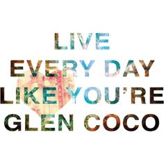 you go glen coco  !!