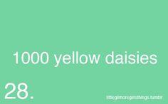 <3 1000 yellow daisies. Max & Lorelai; Gilmore Girls
