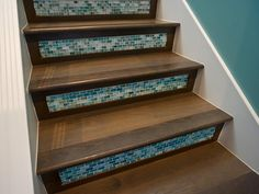 Tiled Stair Risers  - Step Up Your Staircase Design on HGTV