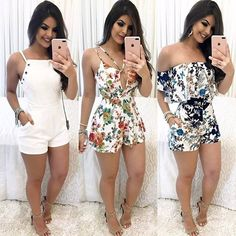 – Designer Fashion Tips Summer Wear, Summer Outfits, Casual Outfits, Cute Outfits, Girl Fashion, Womens Fashion, Fashion Tips, Outfit Trends, Playsuits