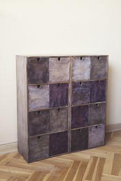Pachwork industrial cupboards by SteelRabbit