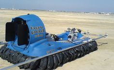 Commercial hovercraft need to be strong, rugged and durable