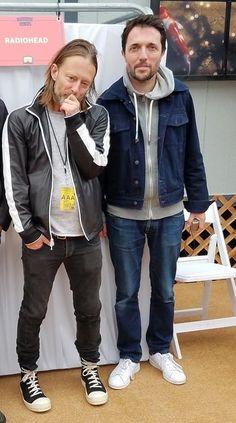 Thom Yorke & Colin Greenwood - #Radiohead