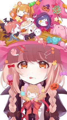 รูปภาพ anime, kawaii, and color+colorful+cutie