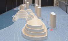 "Exhibition design ""Die Humpis in Barcelona"". Client: Museum Humpis-Quartier in Ravensburg. Design: Niko Hornig, Simon Schaller, Daniel Hartmann"