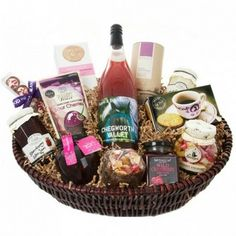 uk Gift Baskets - Luxury Springtime Gift Basket