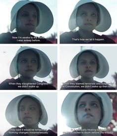 You are watching the movie The Handmaid's Tale on Putlocker HD. Adapted from the classic novel by Margaret Atwood, The Handmaid's Tale is the story of life in the dystopia of Gilead, a totalitarian society in what was Handmaids Tale Quotes, A Handmaids Tale, Movies Showing, Movies And Tv Shows, Series Movies, Tv Series, Margaret Atwood, Cultura Pop, English