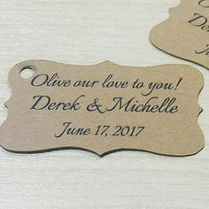 Olive our love to you! What a beautiful message to the people you love ❤  Wedding Olive Oil Favors, Handmade to perfection   Because you deserve the best!  www.SweetGreekAlchemies.com
