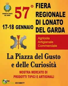Fiera Regionale di Lonato del Garda: Agricola, Artigianale e Commerciale. @gardaconcierge