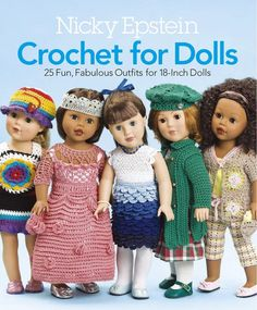 Picture of Crochet For Dolls