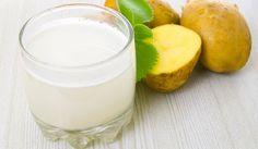 Aunque no comemos papas en su forma cruda, pueden ser utilizadas en esta forma extrayendo su jugo. El jugo de papa cruda es beneficioso para muchas dolencias.