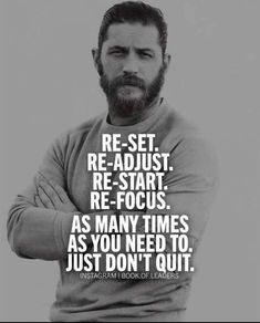 [image] Just don't quit.