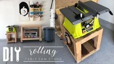 I love working on projects and realizing they could be used in multiple ways - today's DIY is no different. What originally started as DIY table saw stand in. Benchtop Router Table, Diy Router Table, Miter Saw Table, Build A Farmhouse Table, Build A Table, Table Saw Stand, Diy Table Saw, Tool Stand, Diy Tv Stand