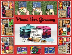 Win One of Five Planet Box's Lunch Boxes on Weelicious.com! #weeliciouslunches