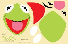 Kermit the Frog Template Printable