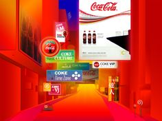 cocacola official website concept