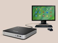 A Samsung colocou o sistema Chrome OS, do Google, num PC de mesa, o Chromebox