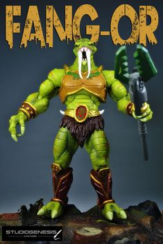 FANG-OR   evil mechanic of the snake men (Masters of the Universe) Custom Action Figure