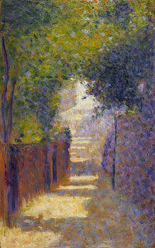 Georges-Pierre Seurat 1859 – 1891 The Rue St Vincent, Paris, in spring