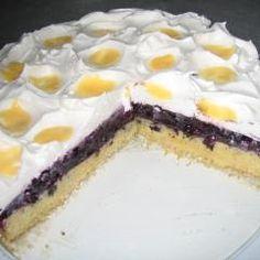 Heidelbeerkuchen mit Eierlikör DasKochrezept.de Cook N, Cheesecake, Baking, Food, Videos, Cute Baking, Cooking, Eggnog Recipe, Cheesecakes