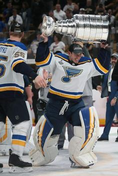 52 years in the making, the Blues finally win their first Stanley Cup, defeating Boston in Game Ryan O'Reilly wins the Conn Smythe Trophy as playoffs' MVP. St Louis Mo, St Louis Blues, Meet The Team, One Team, Champion Gear, Skate Boy, Blues Nhl, Hockey Pictures, St Louis Baseball