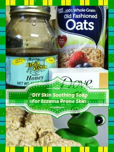 Summer Soft Soothing skin soap recipe for #eczema prone skin #DIY #firetruck #Thomasandfriends