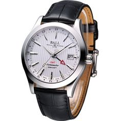 Ball Engineer II Chronometer Red Label GMT Cosc Watch Silver GM2026C-LCJ-SL