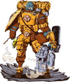 Warhammer Tau Mutation