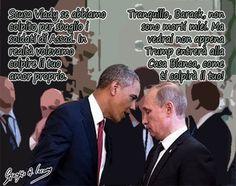 Obama e Putin: uno dei due mente di più