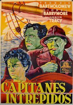 Carteles del cinema: 1937 - CAPITANES INTRÉPIDOS - Captains Courageous