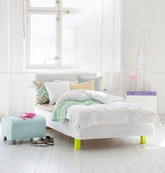 light, white, pastels & neon