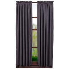 "Arlington Lined Scalloped Short Curtain Panels 63"" x 36"""
