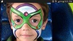 buzz lightyear face paint - Google Search