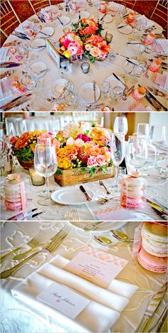 Yes...do this for table layout and love program/menu in back in with name card on top