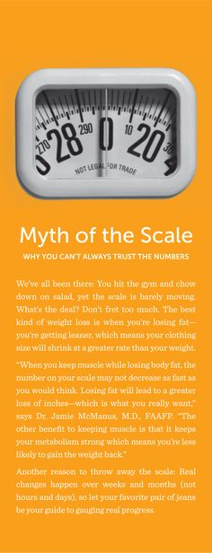 Myth of the scale