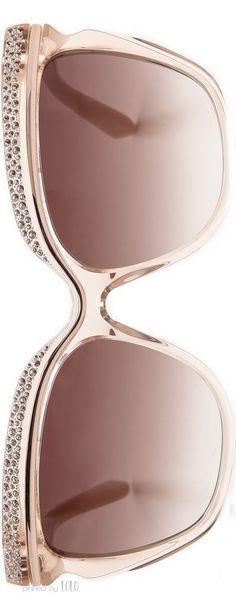228d5a596 Jimmy Choo 58mm Retro Sunglasses in Nude | LOLO❤ Okuliare, Chanel, Ružová  Zlatá