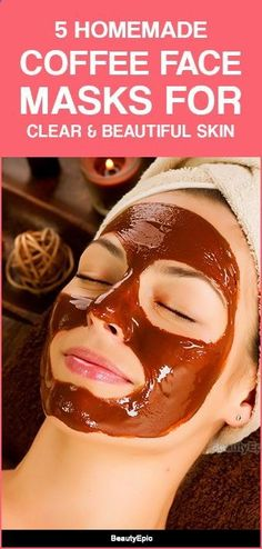 5 Top DIY Coffee Face Masks for Healthy and Gorgeous Skin Coffee has the ability to increase the blood circulation, which will provide you with a healthy skin. Here we present a few coffee face masks that will Olive Oil Face Mask, Olive Oil For Face, Lemon Face Mask, Lemon On Face, Mac Cosmetics, Chocolate Face Mask, Brown Spots On Skin, Dark Spots, Black Spots On Face